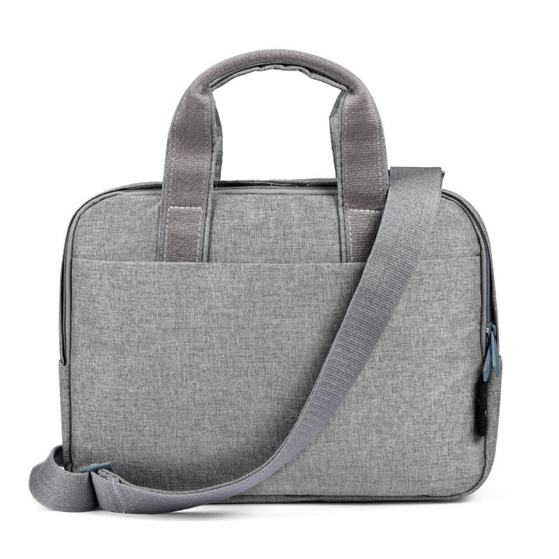 Fashion Laptop Bag Case Messenger Bags for MacBook Air Case Waterproof Notebook Bag Women Men touch bar Sleeve with Belt - Laptop Bags