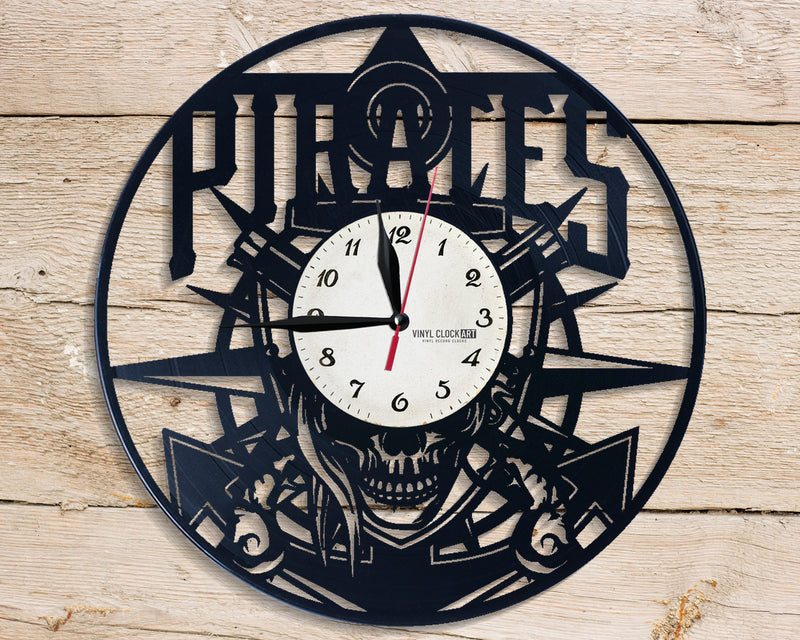 Swords pretty wall clock for children's room