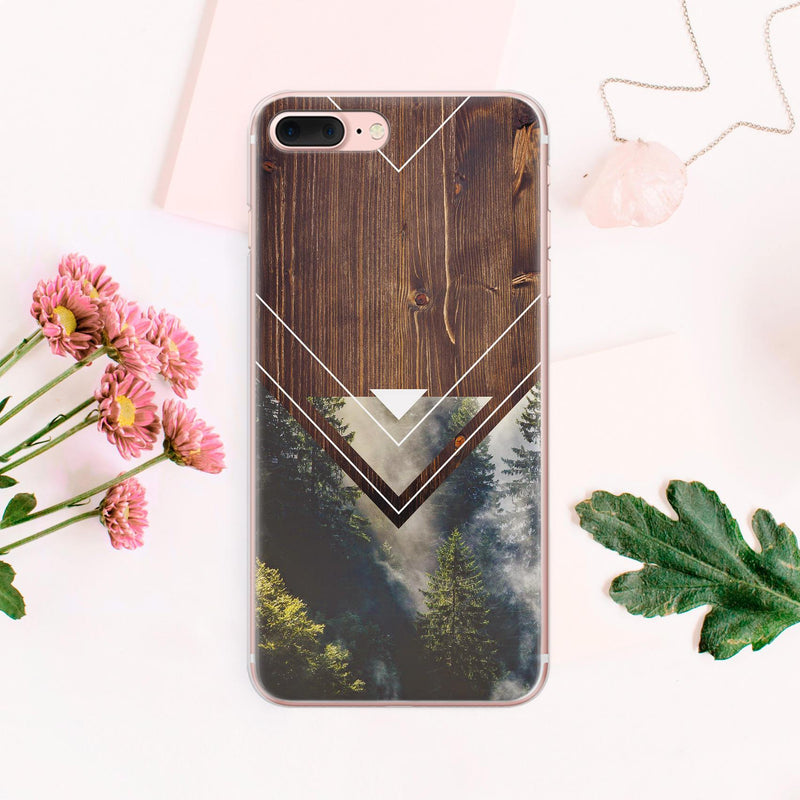 Forest Google Pixel 2 Case iPhone X Hard Case iPhone XR Wood Samsung Galaxy s9 Plus Note 8 Case Pixel XL Plastic Case iPhone 8 CA1014 - Phone Cases