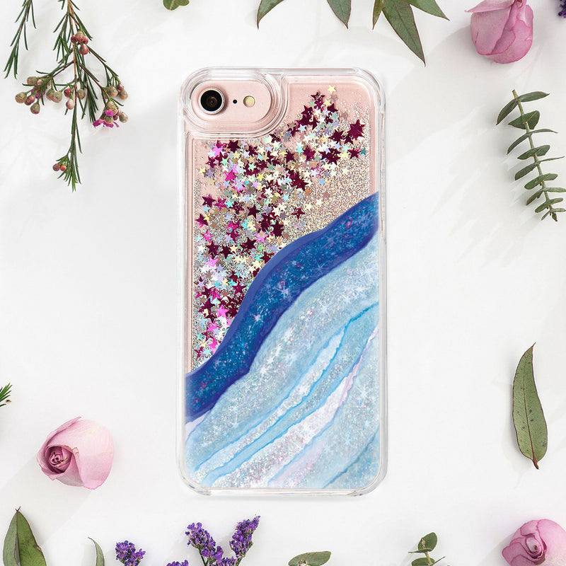 Wave iphone 6s case Glitter iPhone X case iphone 7 phone case iphone 7 plus Marble case 6 iPhone case 6 Plus iPhone phone 6S Plus CA1212 - EtsySales
