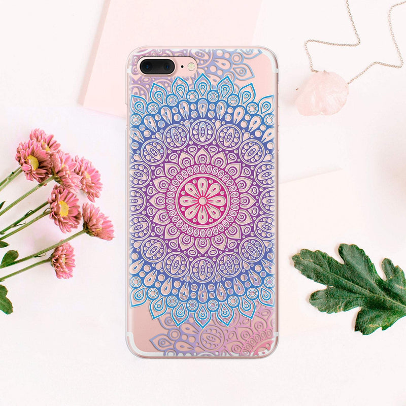 Mandala iPhone X Case iPhone 8 Plus Case iPhone 7 Plus Case iPhone XR Cover iPhone 6S Plus iPhone XS Max Case iPhone 8 Case Sleeve CA1042 - EtsySales