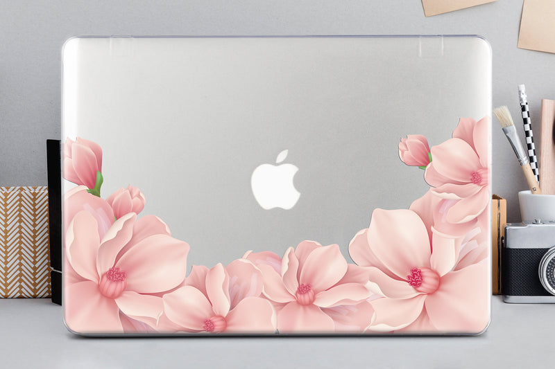 Floral MacBook Pro 13 2019 Case MacBook 12 inch Case Clear Case MacBook Pro 15 2016 Case Pro Retina Macbook Pro 15 Hard Case Laptop CA2004 - EtsySales