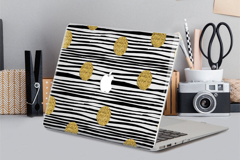 Laptop Cover Gold Lines Macbook Air 13 inch Macbook Pro 15 2019 Hard Case 12 Inch Macbook Geometry Hard Case Macbook Pro 13 15 Inch CA2167 - EtsySales
