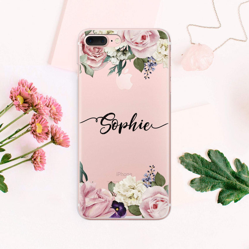 Own Name Google Pixel 2 XL Galaxy S9 Plus iPhone 8 Case Flower iPhone XR Case iPhone 7 Plus Samsung Galaxy S8 Plus Case iPhone Xs CA2178 - EtsySales