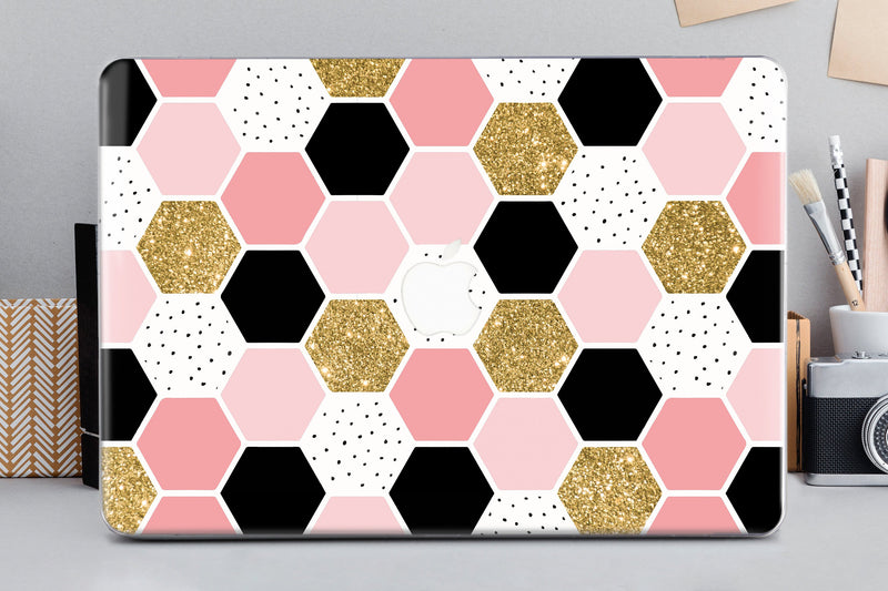 Honey Geometry Macbook Air 13 inch Macbook Pro Hard Case 12 Inch 2018 Marble Macbook Air Hard Case Macbook Pro 13 15 2019 Mac Air 11 CA2189 - EtsySales