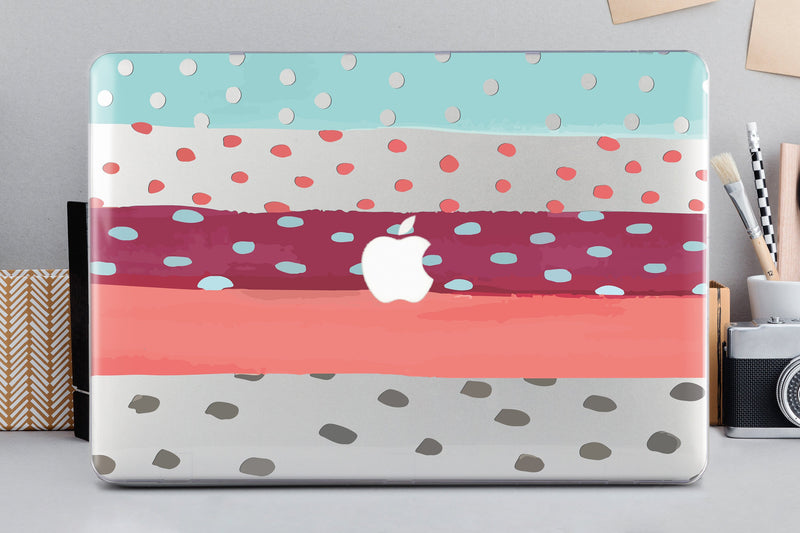 Colorful Case With Design Macbook Pro Case Dots MacBook Air 13 Case Air 11 Case Painting MacBook Pro 13 2019 Case Macbook 12 Cover  CA2208 - EtsySales