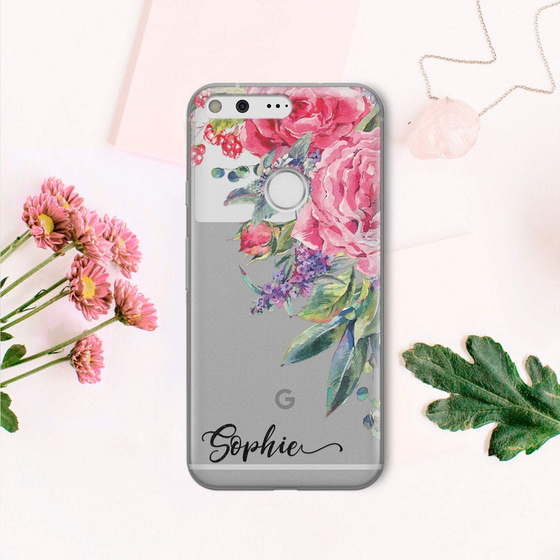 Own Name iPhone XR Case Custom iPhone XS Max Case Flower iPhone 7 Plus iPhone 6s Plus iPhone 6 Clear iPhone 7 Case Google Pixel 2 CA2194 - EtsySales