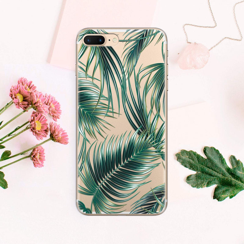 Leaf Case for Samsung S8 Phone Galaxy S8 Phone S7 Case Transparent Phone Galaxy Case S10 Edge Case for Samsung Phone Note 7 Case CA1006 - EtsySales