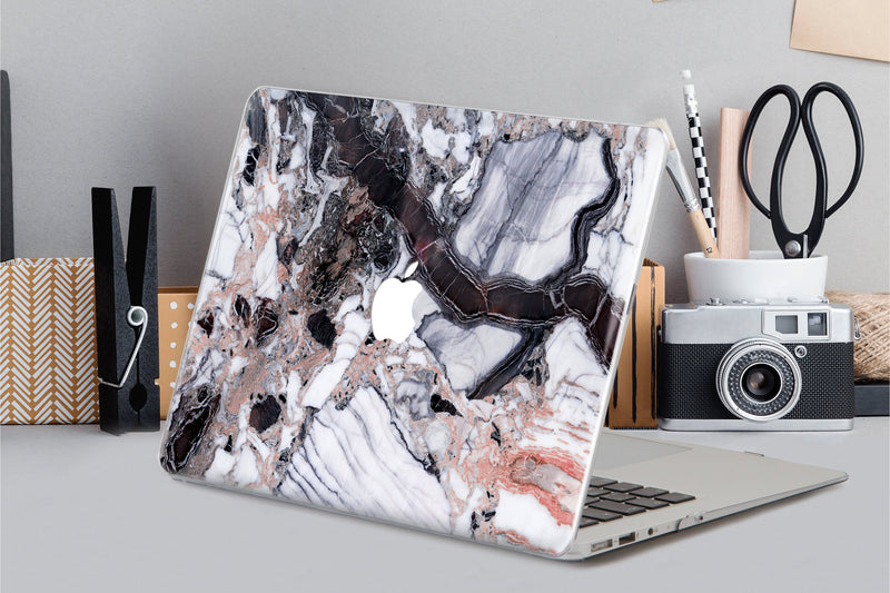 Marble Case Macbook Laptop 12 Hard Macbook Air Case Macbook Pro Case 13 2019 Macbook Retina 2018 Laptop Hard Case Gray Marble Macbook CA2272 - EtsySales