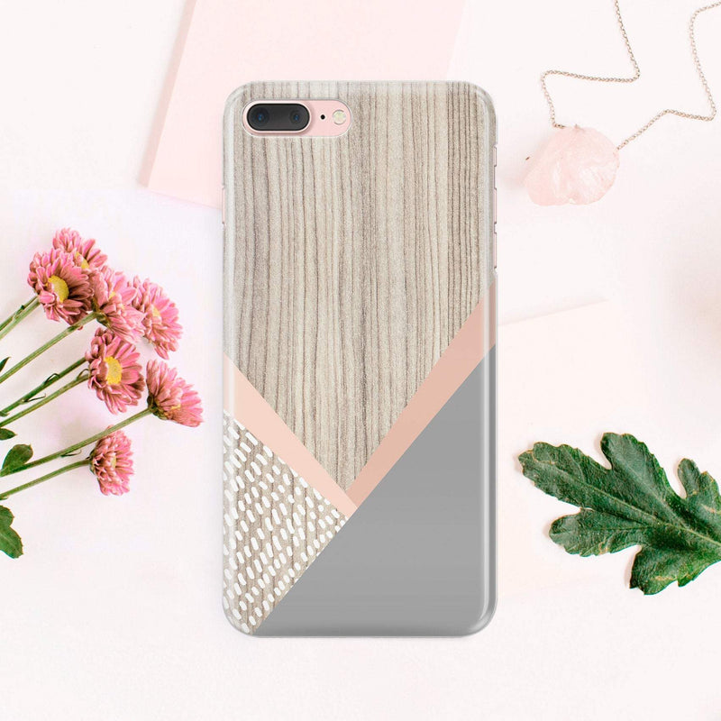 Wood iPhone X Case iPhone 8 Plus Plastic Case iPhone 7 Case Full Wrap For Samsung S7 Edge Case For Galaxy S8 Plus Gray Cover Phone CA1413 - EtsySales