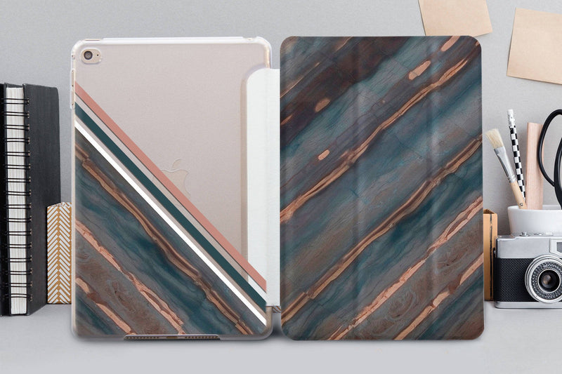 Marble Geometry iPad Air 42017 SmartCover Case Dark Marble iPad Mini 4 Leather SmartCover Case iPad Pro 12.9 2018 Case iPad Air 3 CA4003 - EtsySales