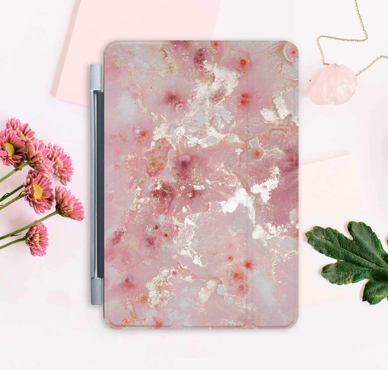 Pink Marble iPad Air Case Marble iPad Air 3 Smart Cover iPad Air 42018 Leather Smart Cover Cute Gift iPad 6 Case iPad Pro 12.9 CA2270 - EtsySales