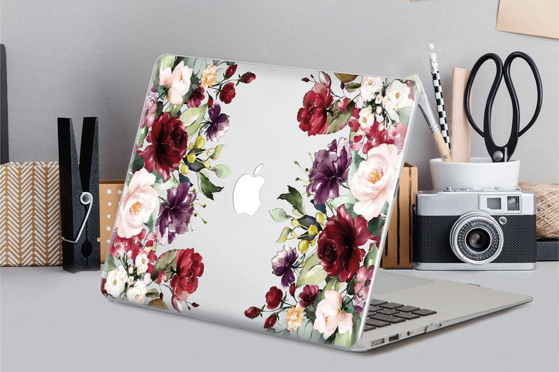 Roses Macbook Pro Retina 15 2019 Hard Case Flowers Macbook Air 11 Hard Case Macbook Pro 13 inch Case Hard Macbook Retina 13 Case Hard CA2251 - EtsySales