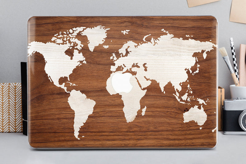 Map of the World Macbook Air 13 Continents Macbook Pro 15 2019 World Map Mac Retina 13 Macbook Air 11 Hard Laptop Shell Handmade Case CA2319 - EtsySales