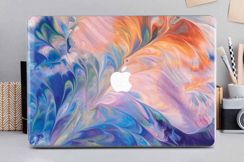 Marble Macbook Air 13 Case Natural Stone Mac Retina 15 2019 Painting Macbook 12 Case Macbook Pro 13 Case Mothers Day Gift Spring Case CA2320 - EtsySales