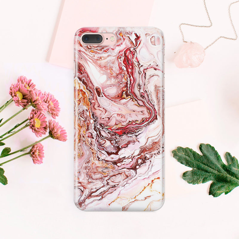 Red Marble iPhone XS Case Full Wrap iPhone 8 Plus Case iPhone X Cover iPhone 7 Plus Case Gold Marble iPhone 6S Plus Case Glossy Cover CA2344 - EtsySales