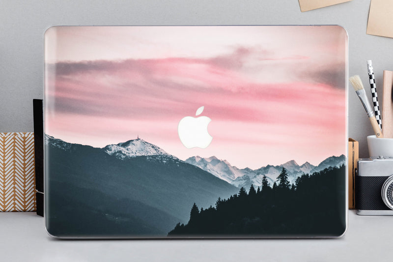 Dawn Laptop Case Mountains MacBook Pro 13 15 2019 Case MacBook Air 11 Case MacBook Air 13 Case MacBook Cover Mac Hard Protective Case CA2254 - EtsySales