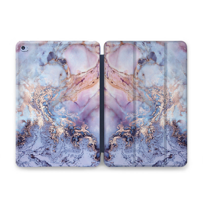Purple Marble iPad Pro 12.9 Case iPad Pro 11 Magnetic Case iPad Pro 12.9 Case Smart Folio iPad 2018 Case iPad Pro 11.4 New Cover CA2354 - EtsySales