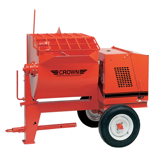 Crown: 10S Series - 10 Cubic Feet, Steel Drum, Highway Towable