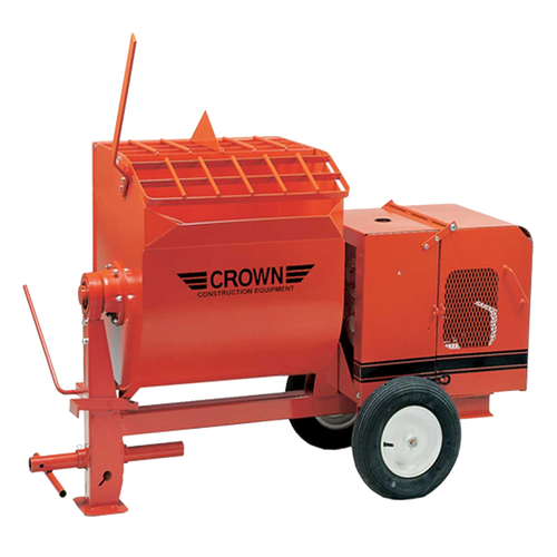 Crown: 4S Series - 4 Cubic Feet, Steel Drum, Non Towable