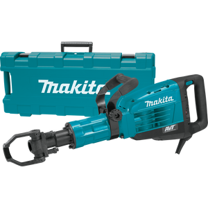 "Makita: 42 lb. AVT® Demolition Hammer, accepts 1‑1/8"" Hex bits - HM1317CB"