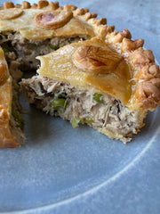 The Truffle Pot Pie- (A Flaky Chicken & Black Truffle Pie)