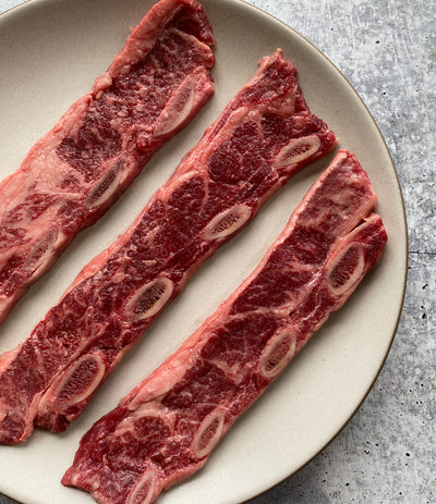 Best Wagyu Kalbi (Korean-Style Short Rib Cut) 1.2 lb avg. photos by Regalis Foods - item 1