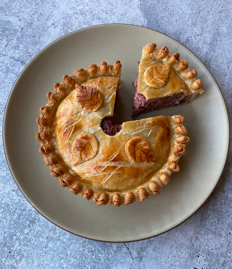 Best The Meat Pie- (Wild Mushroom, Foie Gras & Heritage Pork Pie) photos by Regalis Foods - item 3