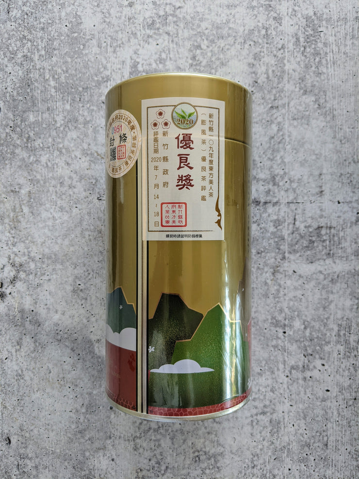 "Dong Fang Mei Ren – 2020 Hsinchu County Competition Class ""Three Plum Blossoms"", 150 g"