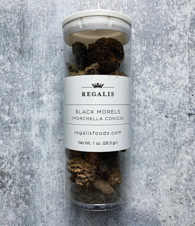 Dried black Morels 1oz
