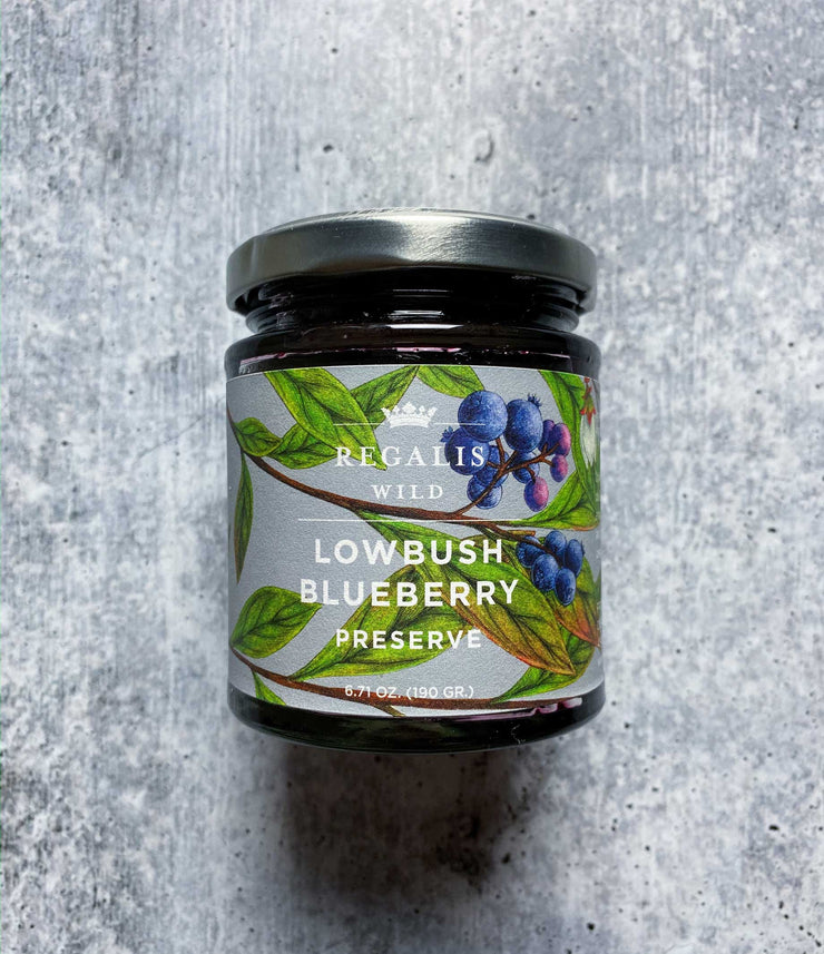 Wild Blueberry Preserves 6.7oz