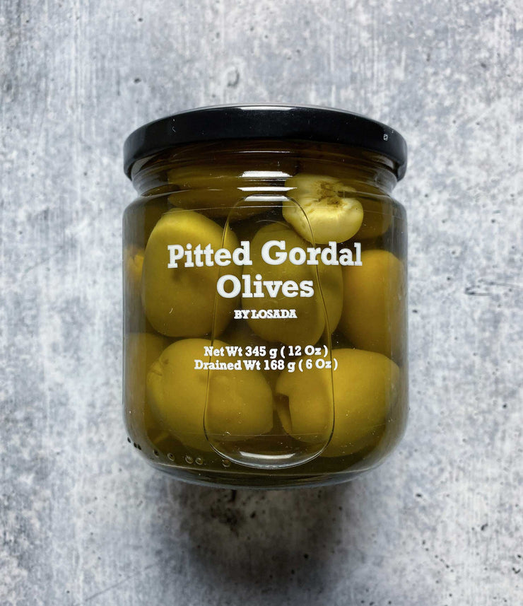 Conventional Gordal Olives Pitted 168gr