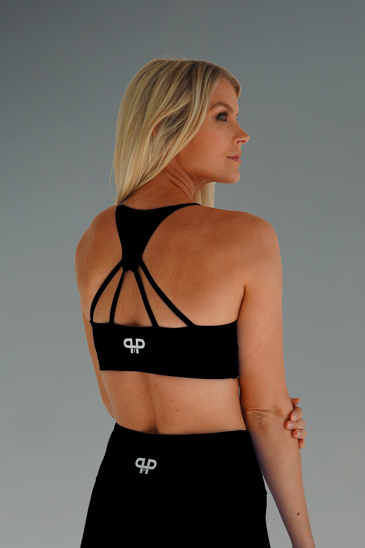 Ample sports bra-midnight - Intensiti