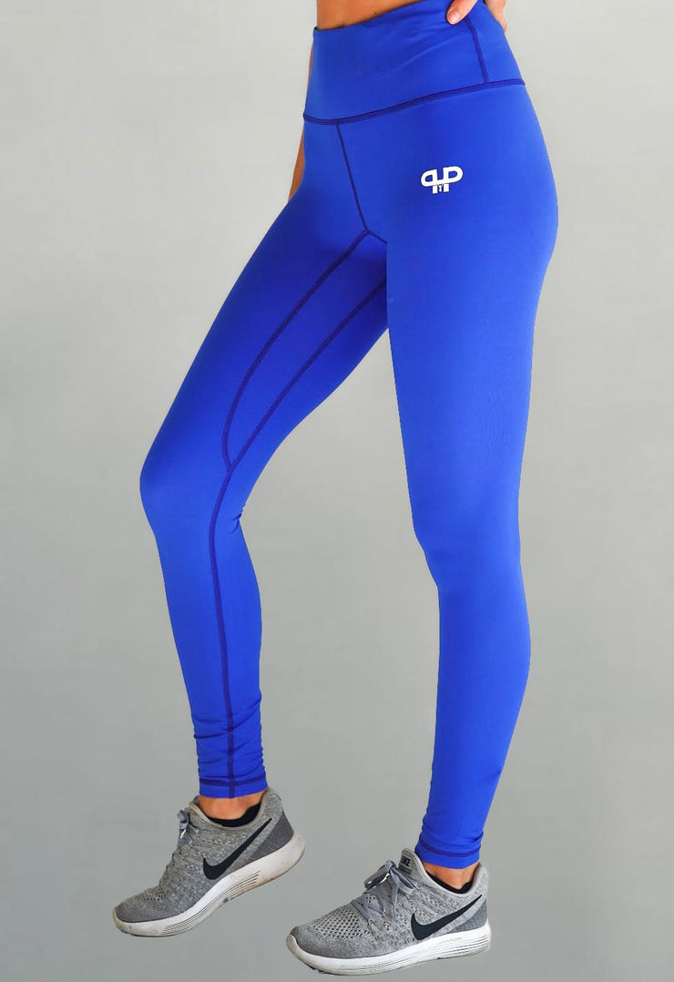 Glam high waisted  leggings-sky - Intensiti