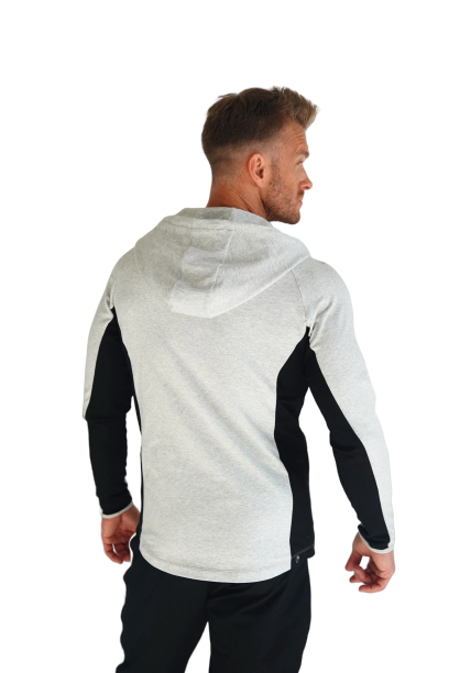 Lit Slim fit hoodie-shade - Intensiti