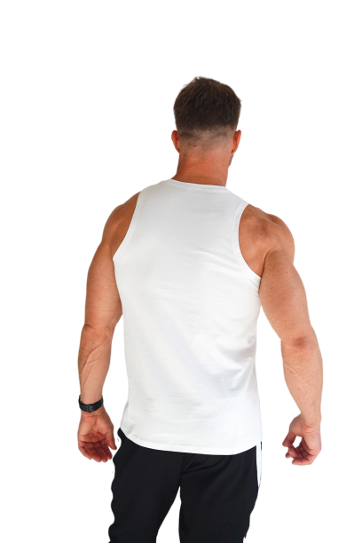Ultimate Athlete Tank Top-Snow - Intensiti