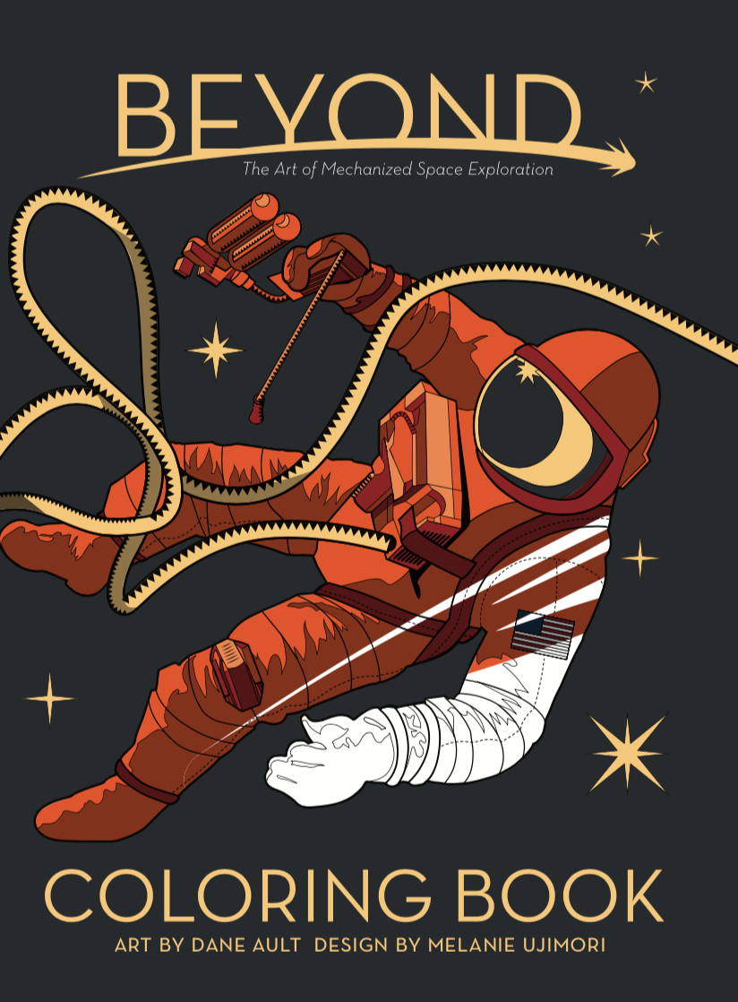 Beyond: A Coloring Book of Space Exploration