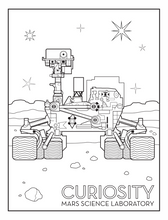Load image into Gallery viewer, Beyond: A Coloring Book of Space Exploration