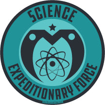 Science Expeditionary Force - Vinyl Sticker
