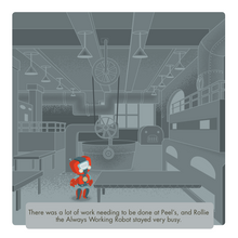 Load image into Gallery viewer, Rollie the Robot All Ages Picture Book