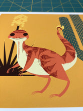 Load image into Gallery viewer, Charmander 8x8 Mid-Century Modern Giclee Print