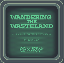 Load image into Gallery viewer, Wandering the Wasteland: A Fallout Inktober Sketchbook