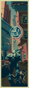 Don't Die! Fallout 4 inspired 12x36 Fine Art Giclee Print