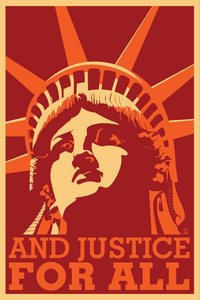 And Justice For All Postcards - 10 pack
