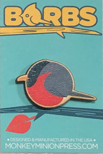 BORBS Robin Wooden Magnet