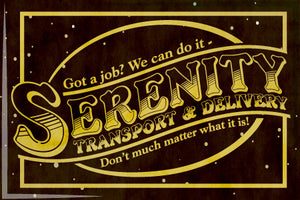 Serenity Transport and Delivery 2x3 Magnet