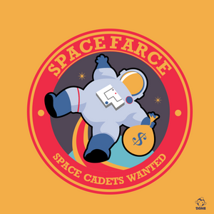 Space Farce 8X8 Art Print