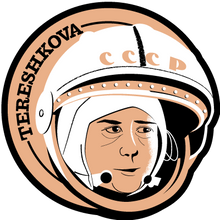 Load image into Gallery viewer, Astronaut of the Month Valentina Tereshkova Wooden Magnet