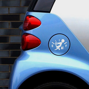 High Gas Consumption Sticker