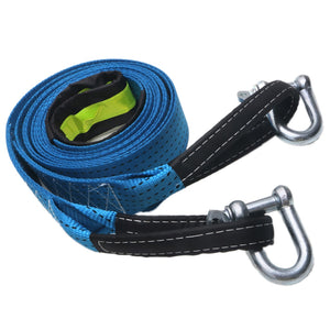 Towing Strap With Luminous U-Hook